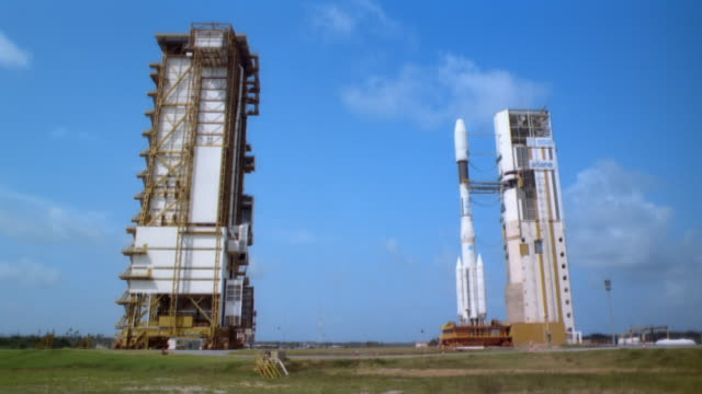 WS, Rocket on launching site in Guiana Space Centre, French Guiana