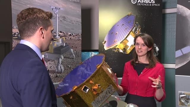 vídeos y material grabado en eventos de stock de rocket on mission to prove 'gravitational waves' theory katie hassel interview sot - territorios franceses de ultramar