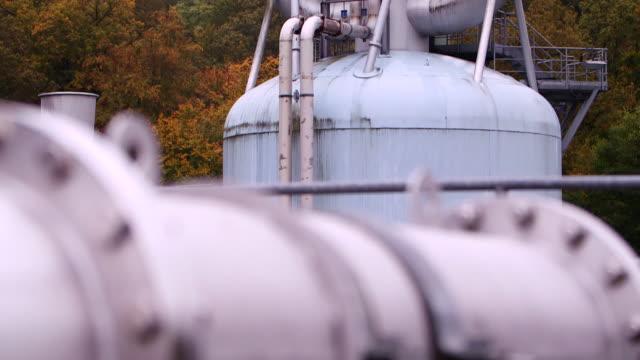 rocket testing site lampoldshausen - wop productions stock-videos und b-roll-filmmaterial