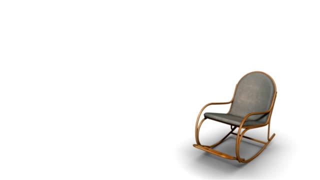 schaukelstuhl - stuhl stock-videos und b-roll-filmmaterial