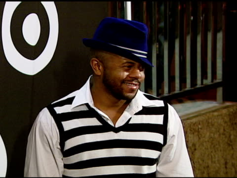 rockmond dunbar at the target hosts common's finding forever album release party at one sunset in hollywood california on july 31 2007 - album release stock videos and b-roll footage