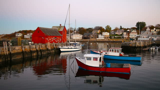rockport, massachusetts - new england usa stock videos & royalty-free footage