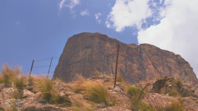 rocks view - drakensberg mountain range stock videos & royalty-free footage