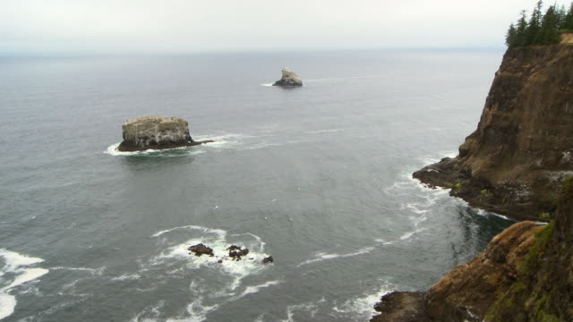 rocky coast - oregon coast stock videos & royalty-free footage