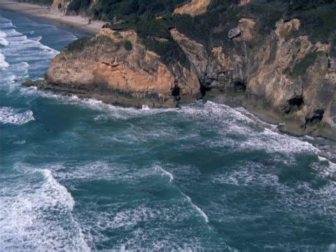 rocky coastline. - rocky coastline stock videos & royalty-free footage