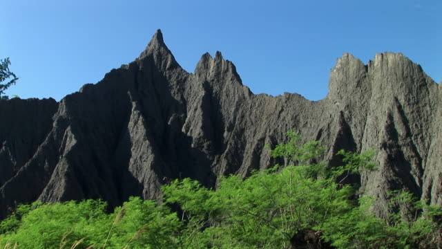 Rocky mountain in Tainan, Taiwan