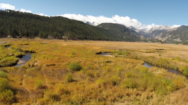 rocky mountain range, colorado - colorado stock videos & royalty-free footage