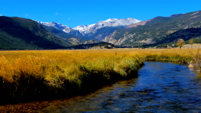 rocky mountain range, colorado - valley stock videos & royalty-free footage