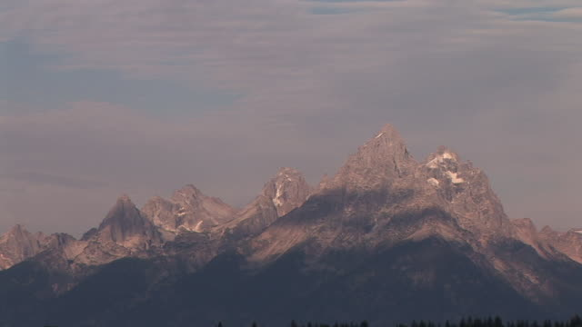 ms, zo, rocky mountains, grand teton national park, wyoming, usa - grand teton national park stock videos & royalty-free footage
