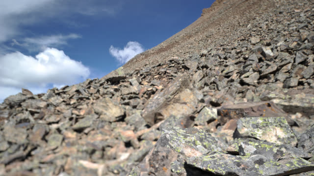 TL Rocky mountains scree slope, Canada