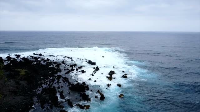 Rocky Outcrop on Coast of Maui Island
