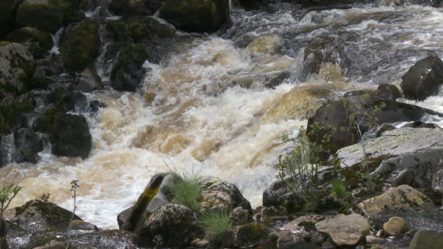 Rocky river in the Galloway Forest Park, Scotland