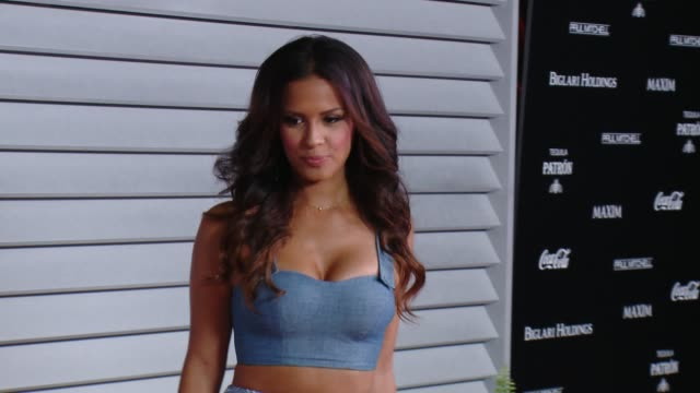 rocsi diaz at the maxim hot 100 and relaunch party at pacific design center on june 10 2014 in west hollywood california - pacific design center stock videos and b-roll footage