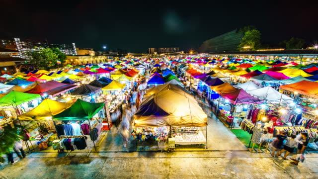 Rod Fai Night market time lapse