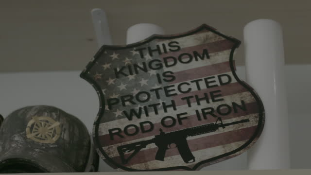 rod of iron sign, close-up - cult stock videos & royalty-free footage