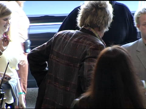 Rod Stewart arrives at the 2004 American Music Awards Day Two Rehearsals at the Shrine Auditorium in Los Angeles California on November 12 2004