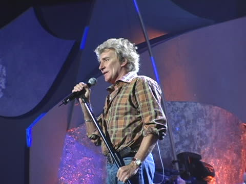 Rod Stewart at the 32nd Annual American Music Awards Day Two Rehearsals at Shrine Auditorium in Los Angeles California