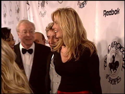 rod stewart at the carousel of hope gala at the beverly hilton in beverly hills california on october 23 2004 - carousel of hope stock videos and b-roll footage