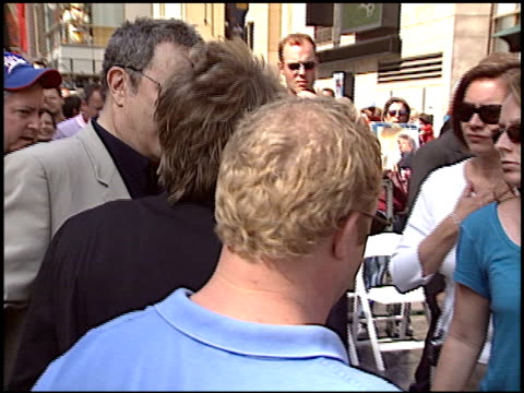 rod stewart at the dediction of rod stewart's walk of fame star at the hollywood walk of fame in hollywood, california on october 11, 2005. - rod stewart stock-videos und b-roll-filmmaterial