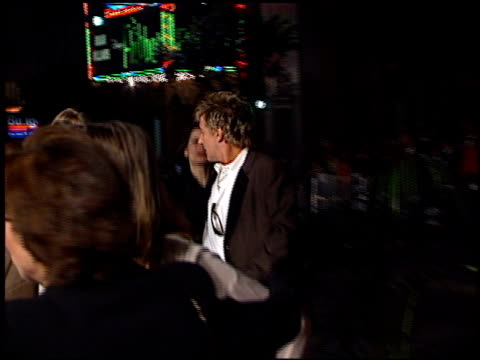 Rod Stewart at the 'Titanic' Premiere at Grauman's Chinese Theatre in Hollywood California on December 14 1997