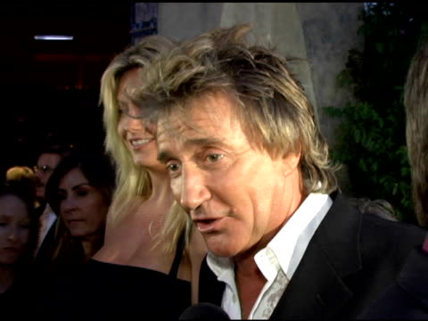 rod stewart on what he likes about larry king at the cnn celebration of 20 years with larry king at spago in beverly hills, california on october 6,... - rod stewart stock-videos und b-roll-filmmaterial