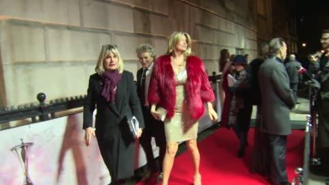 rod stewart, penny lancaster at the sun military awards on december 13, 2017 in london, england. - rod stewart stock-videos und b-roll-filmmaterial