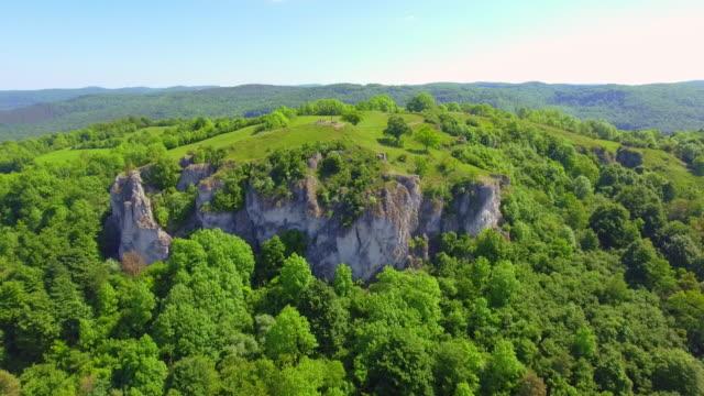 Rodenstein Butte In Walberla Mountain Range In Franconia
