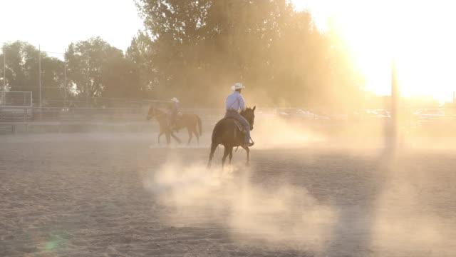 Rodeo Cowboys am frühen Morgen