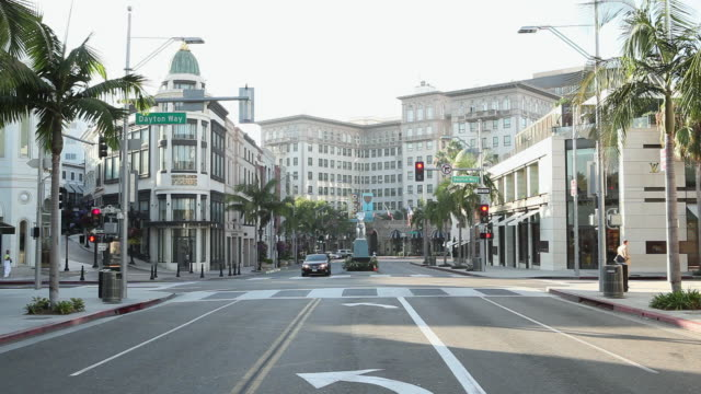 Rodeo Drive, Beverley Hills, Los Angeles County, California, USA