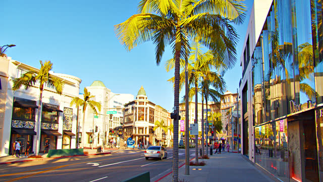 rodeo drive. los angeles. - epidemic stock videos & royalty-free footage