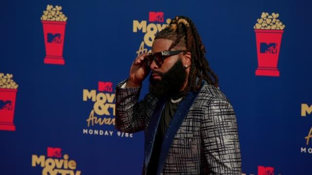 Roderick Gartell at the 2019 MTV Movie TV Awards at Barkar Hangar on June 15 2019 in Santa Monica California