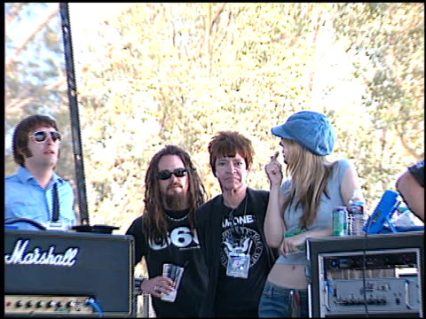 rodney bingenheimer at the kroq's weenie roast on june 15, 2002. - kroq stock videos & royalty-free footage