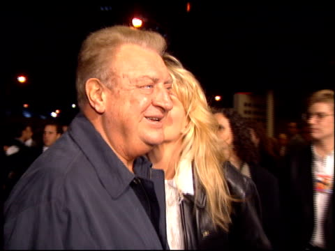 rodney dangerfield at the 'dumb and dumber' premiere at the cinerama dome at arclight cinemas in hollywood california on december 6 1994 - arclight cinemas hollywood stock videos and b-roll footage