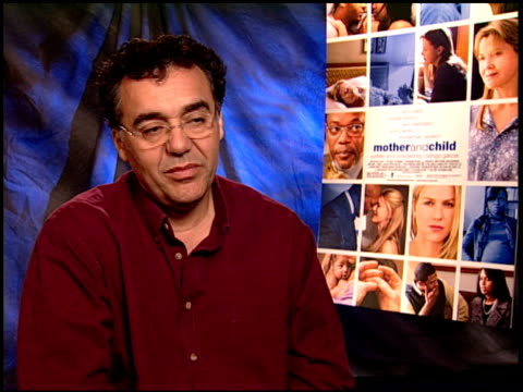 rodrigo garcia on naomi watts and annette bening. at the 'mother and child' junket at los angeles ca. - annette bening stock videos & royalty-free footage