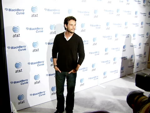 rodrigo santoro at the blackberry curve from at&t u.s. launch party at beverly hills california. - curve stock videos & royalty-free footage