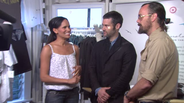 Rogan Gregory Scott Mackinlay Hahn at the Loomstate For Target Launch Party at Venice CA