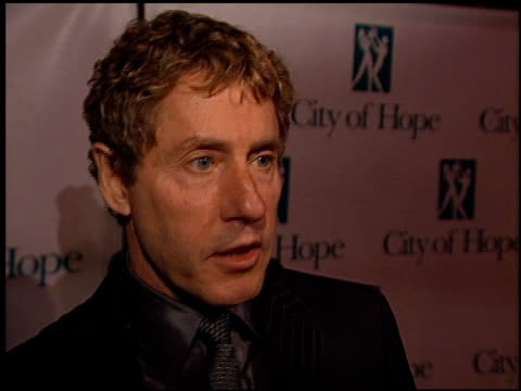 roger daltrey at the spirit of life gala at courthouse square at universal studios in universal city, california on october 11, 2001. - roger daltrey stock videos & royalty-free footage
