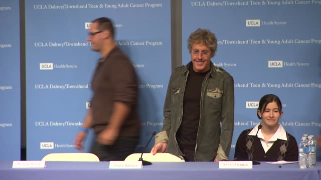 roger daltrey at the the ucla daltrey/townshend teen and young adult cancer program dedication at los angeles ca. - roger daltrey stock videos & royalty-free footage