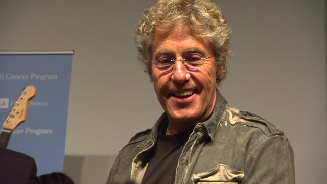roger daltrey at the the ucla daltrey/townshend teen and young adult cancer program dedication at los angeles ca. - roger daltrey stock-videos und b-roll-filmmaterial