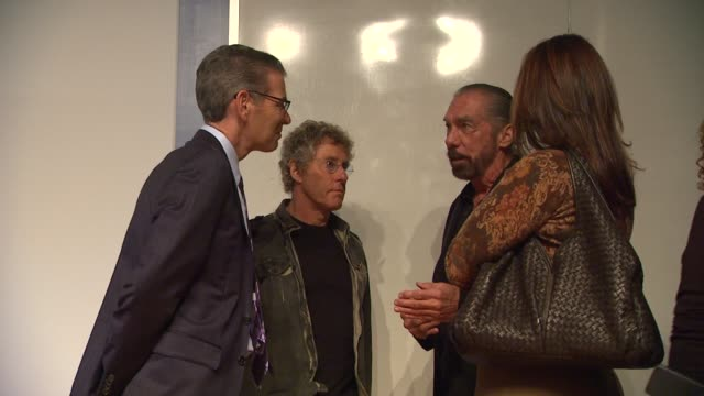 roger daltrey , john paul dejoria at the the ucla daltrey/townshend teen and young adult cancer program dedication at los angeles ca. - roger daltrey stock videos & royalty-free footage