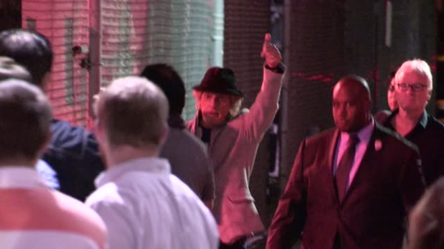 roger daltrey leaving hollywood 05/03/12 - roger daltrey stock videos & royalty-free footage