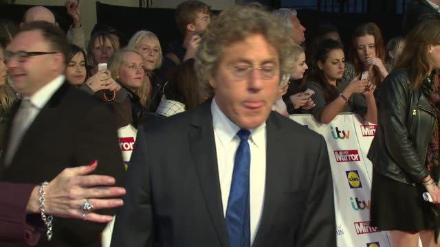 roger daltrey on the awards and emotions at the pride of britain awards 2014 on 6th october 2014 in london, england. - roger daltrey stock videos & royalty-free footage
