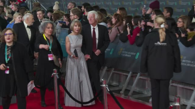 roger deakins attends the ee british academy film awards 2020 red carpet arrivals at royal albert hall on february 2 2020 in london england - red carpet event stock videos & royalty-free footage