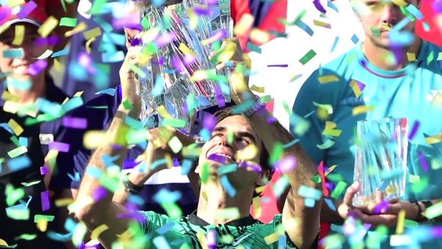 Roger Federer se titulo campeon del Masters 1000 de Indian Wells al vencer en una final 100% suiza a su amigo Stan Wawrinka
