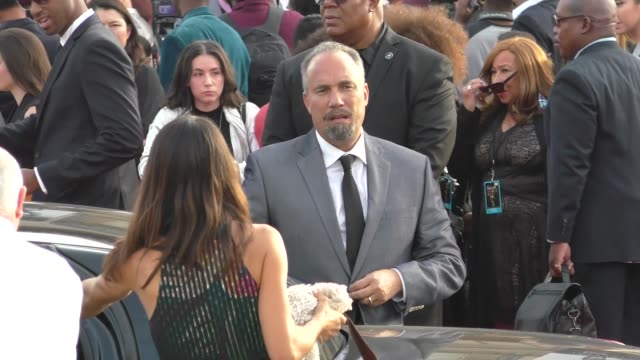 Roger Guenveur Smith LeTania Kirkland at the 49th NAACP Image Awards at Pasadena Civic Auditorium in Pasadena in Celebrity Sightings in Los Angeles