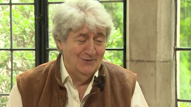 tom conti interview; england: int tom conti interview sot - re roger moore - tom conti stock videos & royalty-free footage