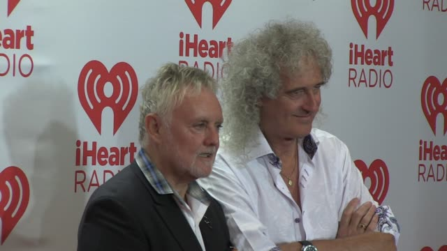 Roger Taylor Brian May at iHeartRadio Music Festival Village Day 1 on 9/20/2013 in Las Vegas NV