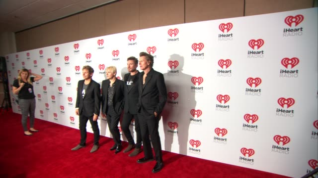 roger taylor nick rhodes simon le bon john taylor at 2015 iheartradio music festival daytime village day one on september 18 2015 in las vegas nevada - nick rhodes stock videos & royalty-free footage