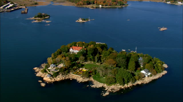 Rogers Island  - Aerial View - Connecticut,  New Haven County,  United States