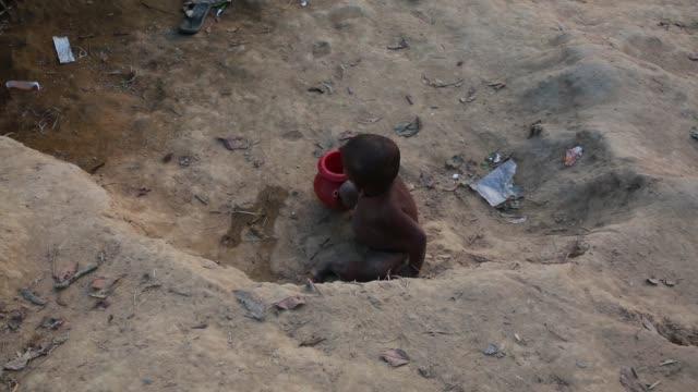 COX'S BAZAR BANGLADESH NOVEMBER 28 Rohingya children fled from ongoing military operations in Myanmar's Rakhine state leading life inside refugee...